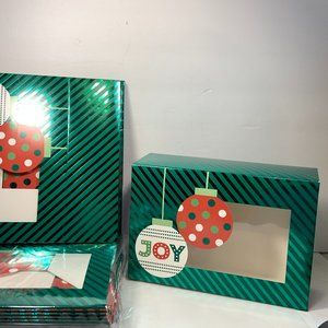 Christmas Cookies & Treats Boxes Set of 17